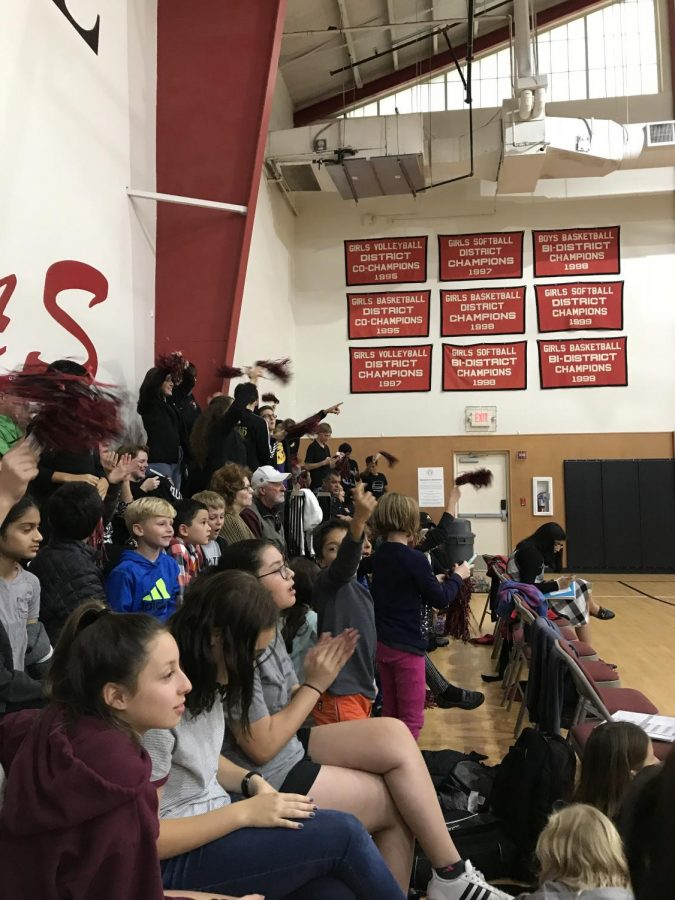 Students get hype at the Spirit War Game