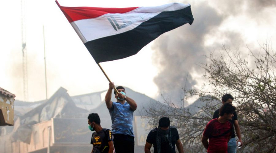 Americans+Under+Missile+Fire+in+Basra%3B+Iraq+Aflame+with+Protests