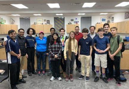Keystone's Inaugural Robotics Team: Reaching for the Skynet
